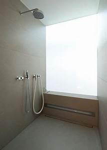 Bank Für Dusche : begehbare dusche walk in satiniertes glas milchglas ablaufrinne bank h user pinterest ~ Michelbontemps.com Haus und Dekorationen