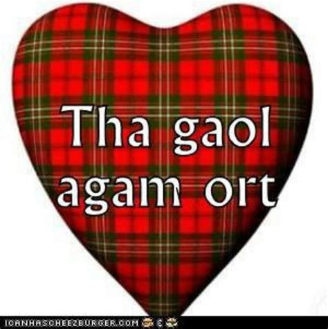 Scottish I Love You  Ireland & Scotland Pinterest