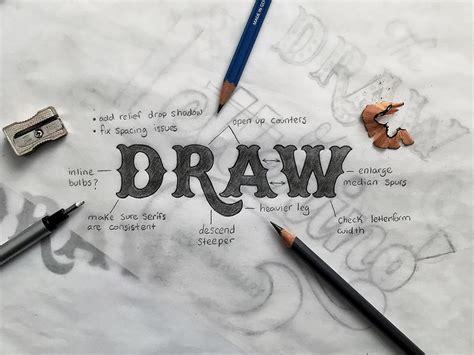 draw  lettering tierney studio