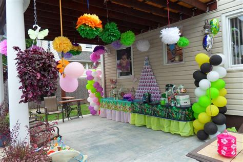 Thinker Bell Green Lantern Birthday Party Ideas Photo