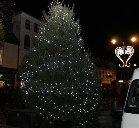 christmas lights newport parish council isle of wight
