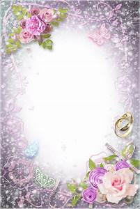 Transparent Flowers Wedding Frame | Wedding frames ...