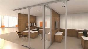 Movable Interior Office Walls Full Height Portable Wall