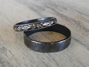 sterling silver rings his and hers wedding rings black With his and hers black diamond wedding rings