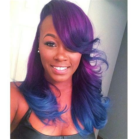 Black Colored Hairstyles by And They Say Black Don T Look In Colored Hair