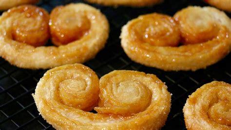recette cuisine v馮騁arienne recette palmiers feuillet 233 s inratables 3 ingr 233 dients