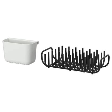 BOHOLMEN Dish drainer and cutlery basket   IKEA