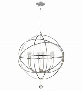 crystorama 9228 os solaris 6 light chandelier in olde With lamp wiring supplies promotiononline shopping for promotional lamp