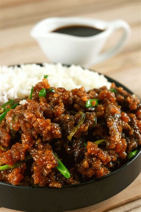 easy beef recipes easy crispy mongolian beef scrambled chefs