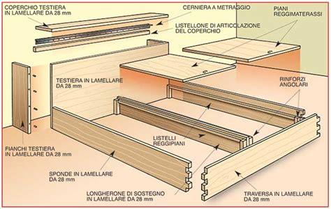 Fai Da Te Da Letto - come costruire un letto contenitore in legno massello