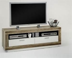 Tv Möbel Weiß : tv m bel eiche wei deutsche dekor 2017 online kaufen ~ Buech-reservation.com Haus und Dekorationen