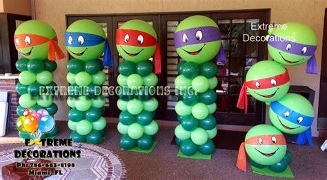 tmnt ninja turtles balloon decorations ninja turtles