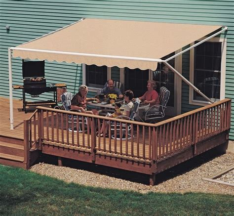details   ft sunsetter xt retractable awning outdoor deck patio awnings