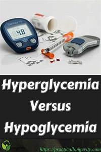 Hyperglycemia Versus Hypoglycemia With Images