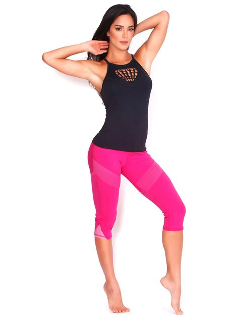 Protokolo Top 4042 Women Sexy Workout Apparel Activewear Sports Clothing Exercise Wear Fitness ...