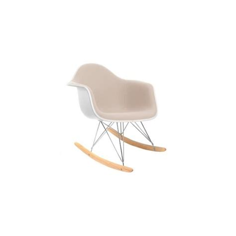 chaise design eames pas cher chaise eames rar awesome rar rocking chair eames offwhite
