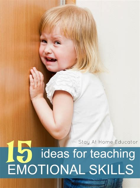 15 ideas for teaching preschoolers emotional skills 232 | 15 ideas for teaching emotional skills