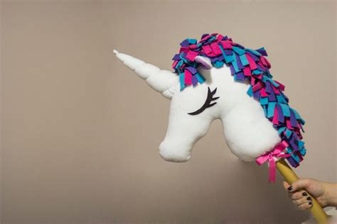 ribbon puppet craft easy unicorn puppets craft projects for every fan 5333