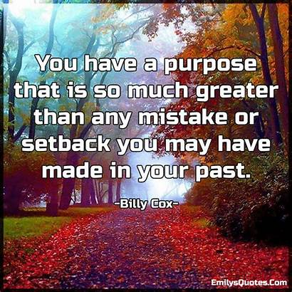 Purpose Mistake Than Much Any Greater Setback
