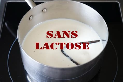 recettes de sans lactose et de dessert