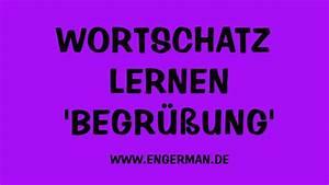 Now Auf Deutsch : wortschatz lernen begr ung deutsch online youtube ~ Watch28wear.com Haus und Dekorationen