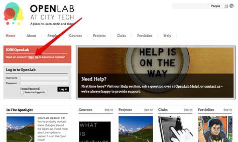 cuny help desk city tech openlab