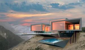 Bauen Am Hang : modernes luxushaus bauen luxusvilla neubau mit flow ~ Markanthonyermac.com Haus und Dekorationen