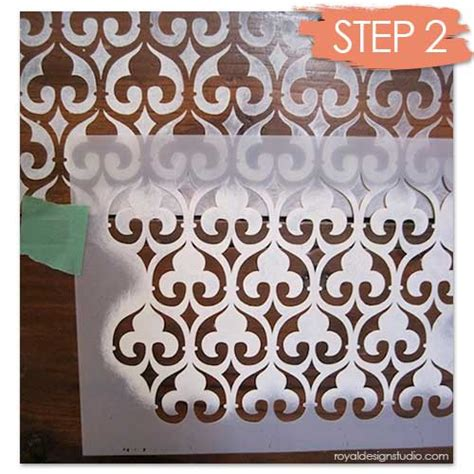 decorative stencils for furniture how to stencil wood furniture with chalk paint 174 decorative paint hometalk