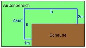 Maximale Fläche Berechnen : 1011 unterricht mathematik 10a differenzialrechnung ~ Themetempest.com Abrechnung