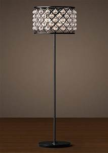 loft rh crystal water drop floor lamp contemporary With drop 4 floor lamp