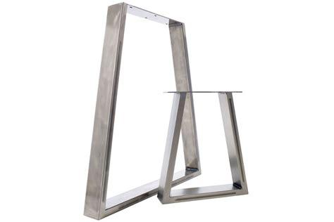 metal legs for a desk 2 x steel table desk bench pedestal legs the
