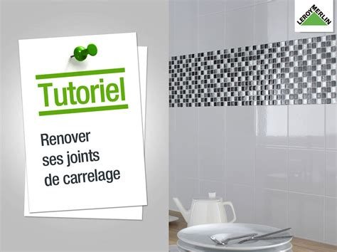 comment poser le joint de carrelage comment r 233 nover ses joints de carrelage leroy merlin