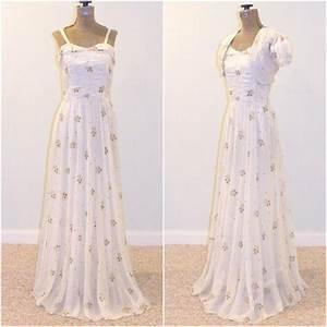 1930s Dress & Bolero, 30s Evening Gown Wedding Dress ...