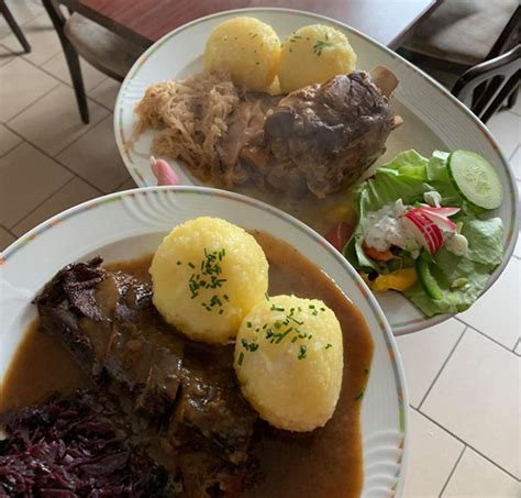 Speisen der Bergbaude Albrechts