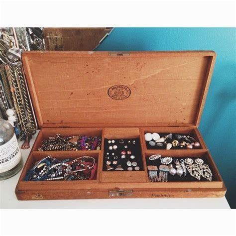 side project cigar box jewelry holder wild amor