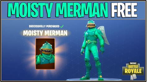How To Get Moisty Merman For Free!