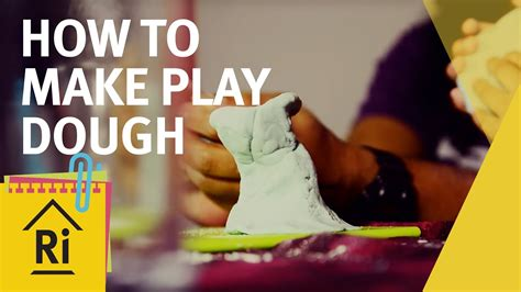 Science For Kids  How To Make Play Dough Experimental