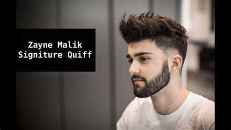 Zayn Malik Signature Hair Tutorial