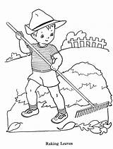 Coloring Rake Boys Drawing Pages Leaves Raking Pharmacy Embroidery Boy Books Abhiyan Colouring Swachata Sheets Clipart Paint Cartoon Sheet Line sketch template