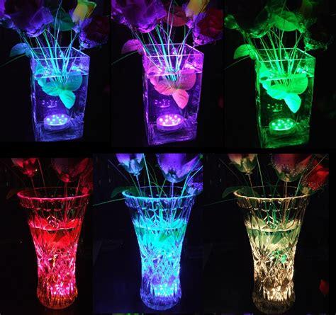Multi Color Submersible Led Lights For Vasesunderwater