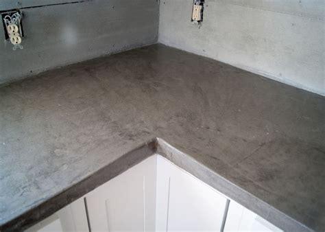 diy concrete counters poured  laminate   diy