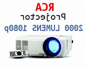 New Rca Rpj116 1080p Led Home Theater Projector
