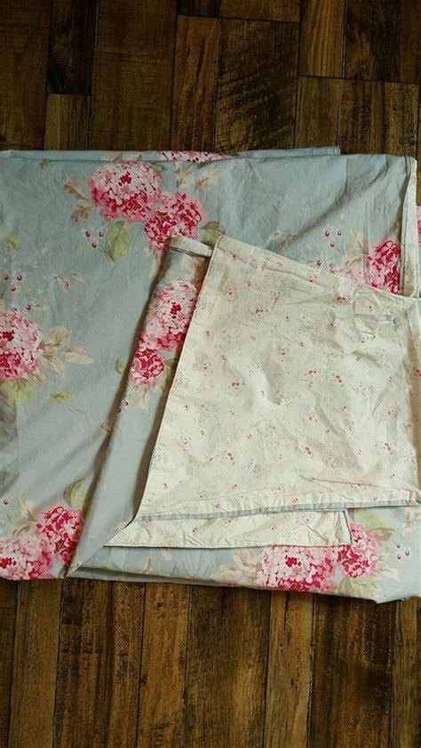 shabby chic hydrangea bedding simply shabby chic rachel ashwell full queen blue hydrangea duvet cover ebay