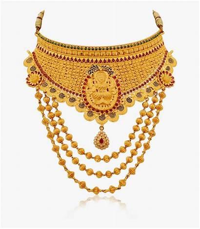 Jewellery Gold Necklace Grand Bridal Half Designs