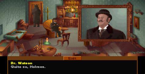 lost holmes sherlock 3do gamefabrique screenshots