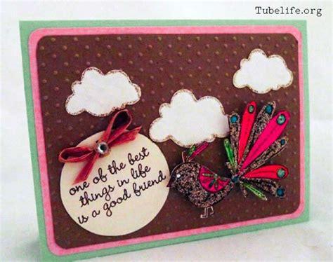 happy friendship day card handmade   friend