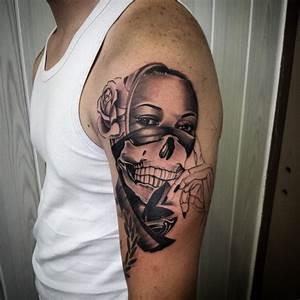 25+ Outstanding Gangsta Tattoos Ideas For Sleeve - Golfian.com