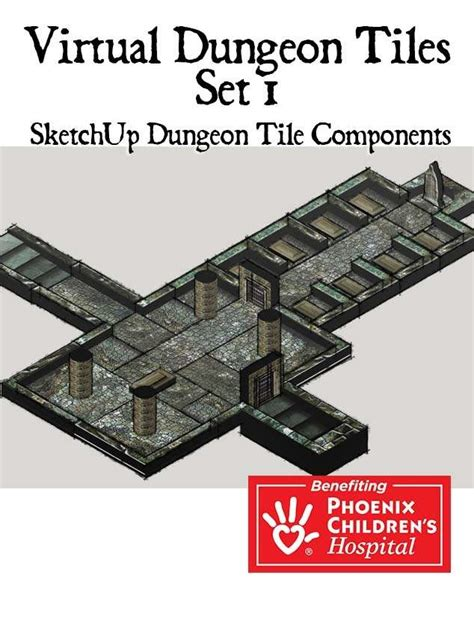 3d Dungeon Tiles Pdf by Map Tiles Basic Dungeon Tile Set 1 Middle