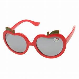 8cd544f2b9b59 hello kitty lunettes de soleil enfant rouge vert achat vente lunettes de  soleil cdiscount