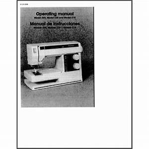 Instruction Manual  Viking 230   Sewing Parts Online